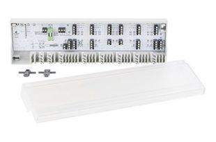 Möhlenhoff Alpha-Basis direct 230V/24V   hochwertige Regelklemmleiste Fußbodenheizung   für 6 Thermostate & 15 Stellantriebe