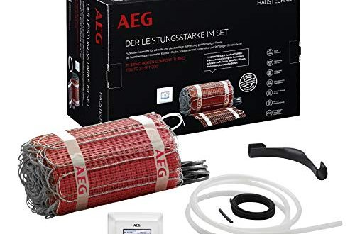 AEG Haustechnik 234353 TBS TC 30 Set 200/1,5 T elektrische Fußbodenheizung THERMO BODEN, 1.5 m²